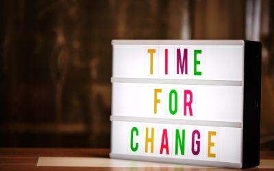5 Schritte zur Veränderung